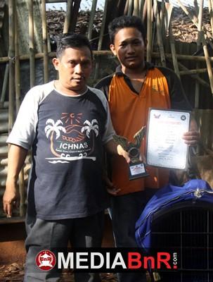 Cucak Hijau Ganyang Raih Juara Pertama
