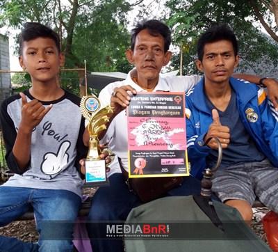 Cucak Hijau Promag Mawar SF Raih Juara 1