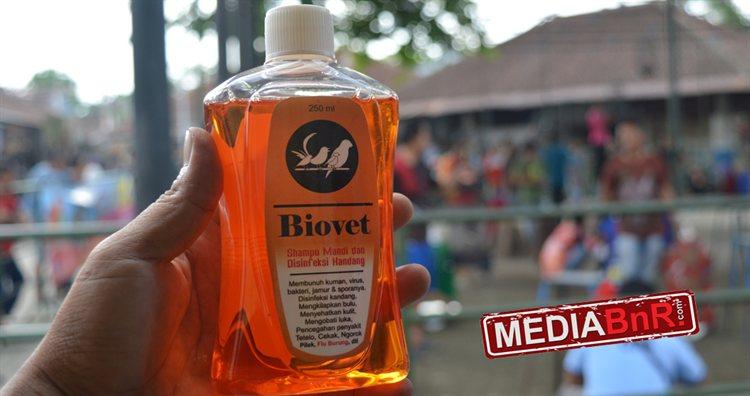 Cukup satu tutup botol BIOVET yang dicampir 1 liter air bisa membunuh kuman dan bakteri.