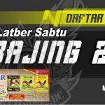 DAFTAR JUARA LATBER SABTU BAJING 22 (08/08/2020)