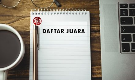 Daftar Juara Kopdar BnR Langit Perang Bintang Jogjakarta (25/04/2021)
