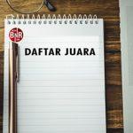 DAFTAR JUARA LATPRES BNR MUTIARA ENT MINGGU(09/05))