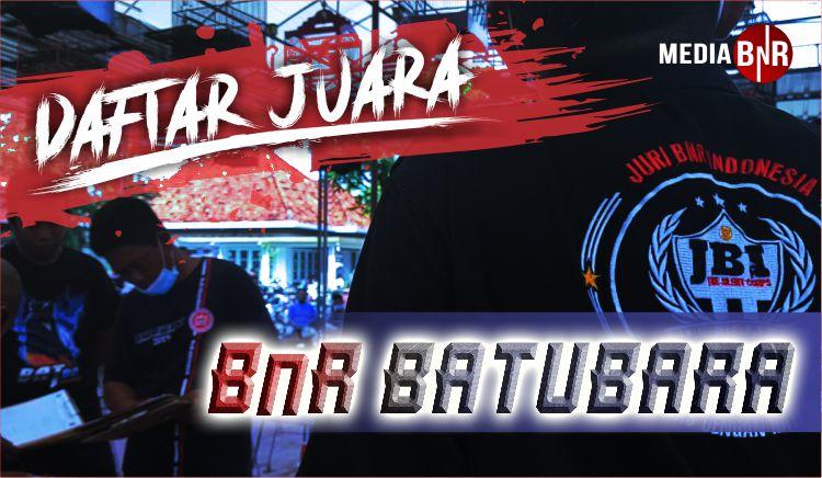 DAFTAR JUARA BAT BC BnR BATUBARA (19/02/2021)