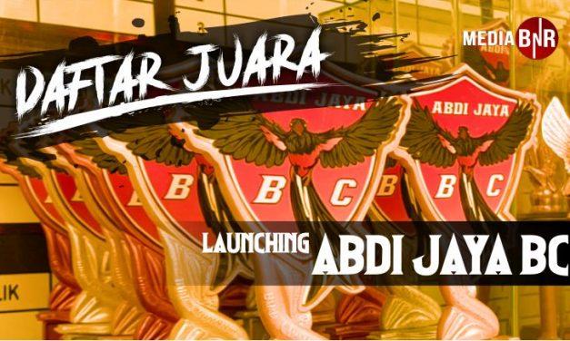 DAFTAR JUARA LAUNCHING ABDI JAYA (21/03/2021)