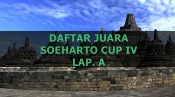 DAFTAR JUARA SOEHARTO CUP IV A