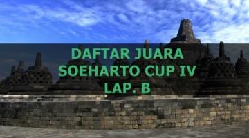 DAFTAR JUARA SOEHARTO CUP IV B