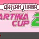 DAFTAR JUARA MARTINA CUP 2 (29/11/2020)