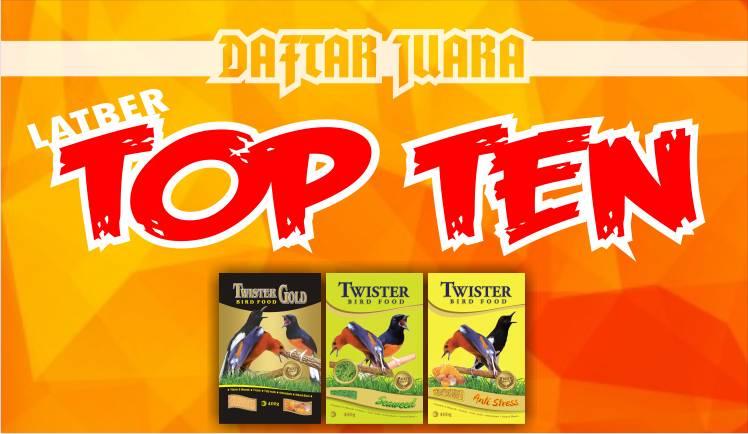 DAFTAR JUARA LATBER TOP TEN feat BnR (20/11/2019)