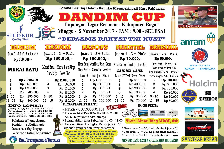 DANDIM BOGOR CUP 2017_R1