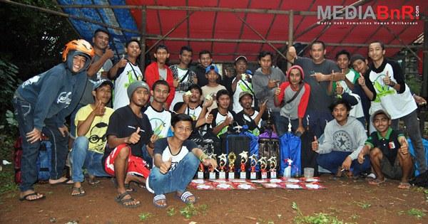 DPC All Star Sapu Bersih Kelas Pleci, Kionk double winner sampai sujud (Foto: Ade/MediaBnR.Com)