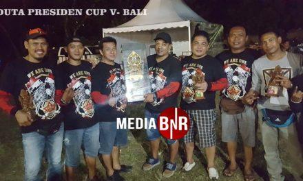 Duta Prescup V Juara BC di Bali