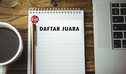 Daftar Juara Launching KHI Ndalem Notoprajan Yogyakarta (28/03/2021)
