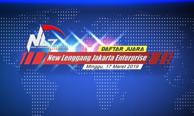 Daftar Juara Latpres New Lenggang Jakarta – Minggu, 17 Maret 2019