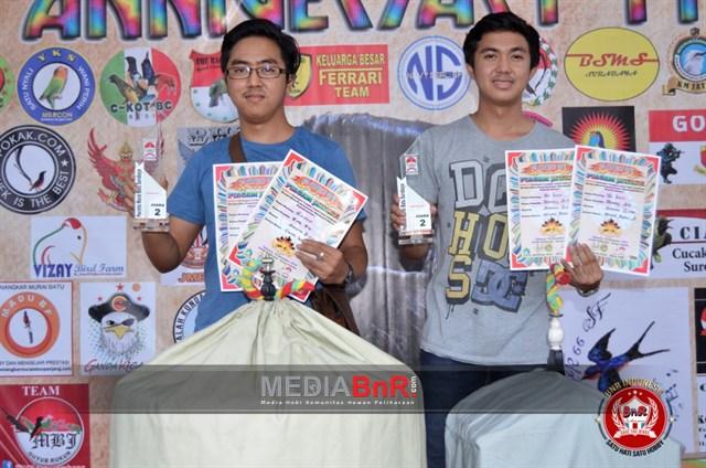 Danang Aw Santana team hantar De Javu kepodium II dikelas Murai Batu