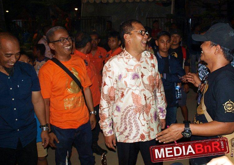Danny Pomanto Menyempatkan Hadir di Tengah-Tengah Kicaumania dan Pengunjung