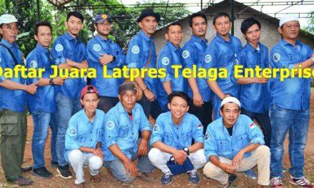 Daftar Juara Latpres Telaga Enterprise (25/11/2018)