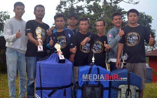 Dede SP Aqua BC, si Centilnya dua kali menang (Foto: Saeful/MediaBnR.Com)