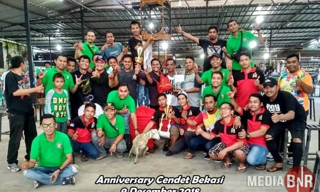 ANNIVERSARY CENDET BEKASI RAYA DEWA KILLER JAWARA BEST OF THE BEST