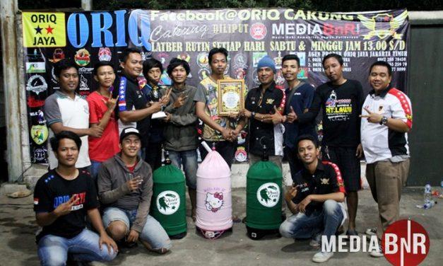 Acha Borong Juara Dikelas Lovebird, Peace Crew Rebut Juara Umum BC