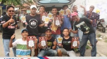 Domba Indah Jaya SF Cirebon kembali berjaya, lewat aksi Bodrex cetak double winner di murai batu serta Manohara di Love Bird Paud BnR  2 jagoan Yudi HSD