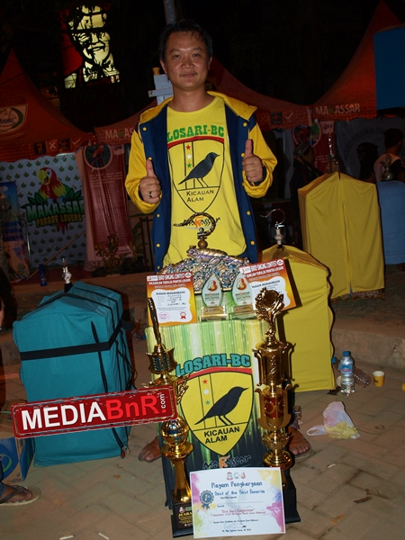 Donny Wijaya Sang Komandan Losari BC