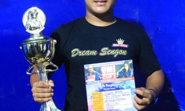 Pendatang Baru Juarai BOB Umi Kasum Cup II