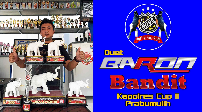 Duet Baron dengan Bandit borong juara di Kapolres Cup II Prabumulih