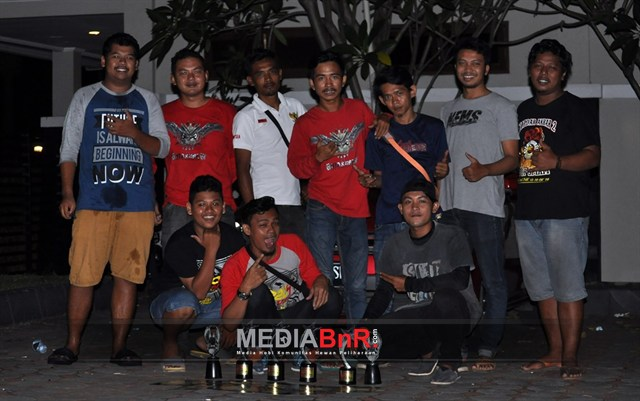 Duet Hokky Crew dan Botax Crew, Cadasari Bersatu rayakan kemenangan