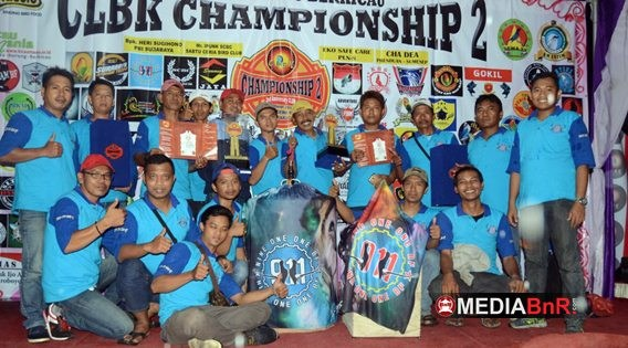CLBK Championship II  Sukses Hadirkan 1.333 Kontestan