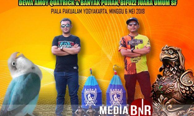 H. Birly Pekalongan : LB Dewa Amoy Cetak Quatrick, Bipuzz SF Juara Umum di Piala Pakualam