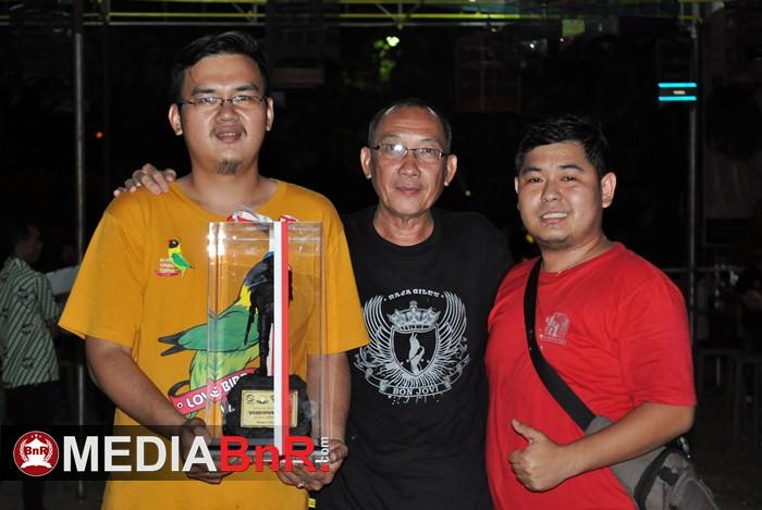 Dandenpon Jaya/1 : Nyaris Borong Juara di Semua Kelas, Freddy RG BF Raih Juara Umum