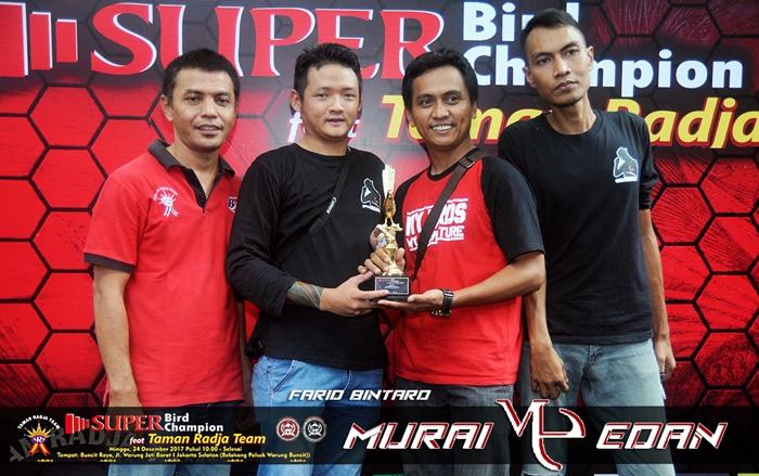 Farid Bintaro rayakan kemenangan ME