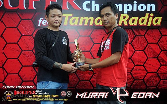 Farid Bintaro sukses kawal ME raih juara pertama