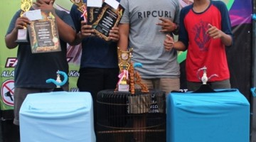 Fortuna BC feat BTX SF. Silaturahmi Rebut Juara Kacer dan Kenari