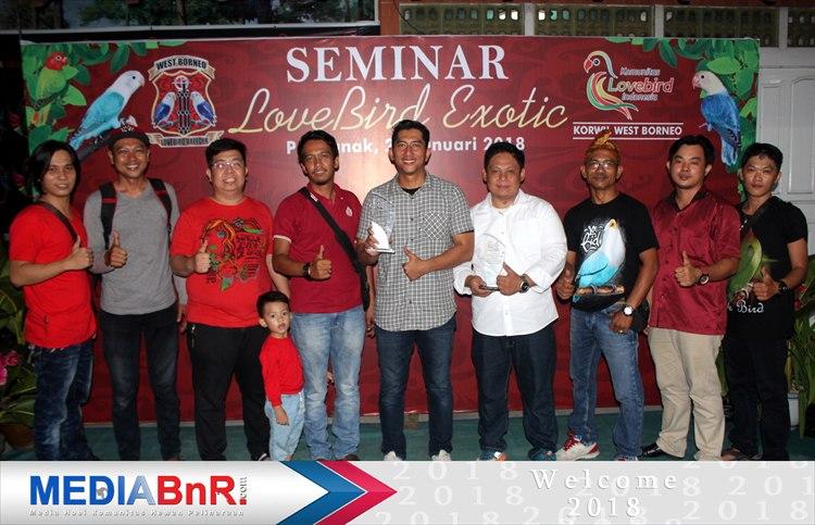 Seminar Love Bird Exotic Pertama Di Kalimantan Barat