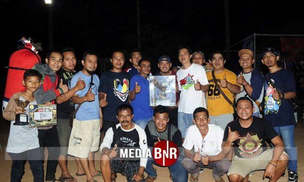 Rawit Setan Mempesona, H.Robby Kal-Sel & G & T Team Juara Umum
