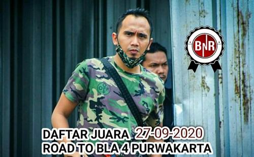 DAFTAR JUARA ROAD TO BANDUNG LAUTAN API CUP 4 BnR PURWAKARTA 27-09-2020