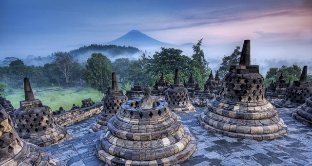 Borobudur Banjir Kicaumania