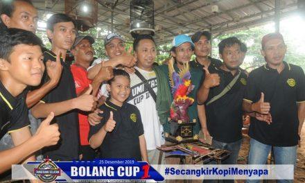 BOLANG CUP 1 : GEMPAR BUMI GASAK KELAS UTAMA, B 90 & SIFU RAIH JUARA UMUM
