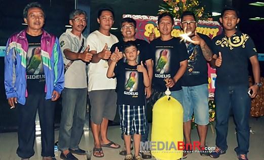 Gideug…Sang Fenomenal dari Bandung Cetak Pentatrick