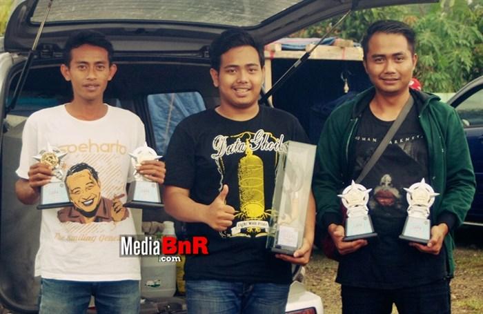 Goib 4x Jawara Satu Dinobatkan Lovebird Terbaik Even Bansel CUP 2