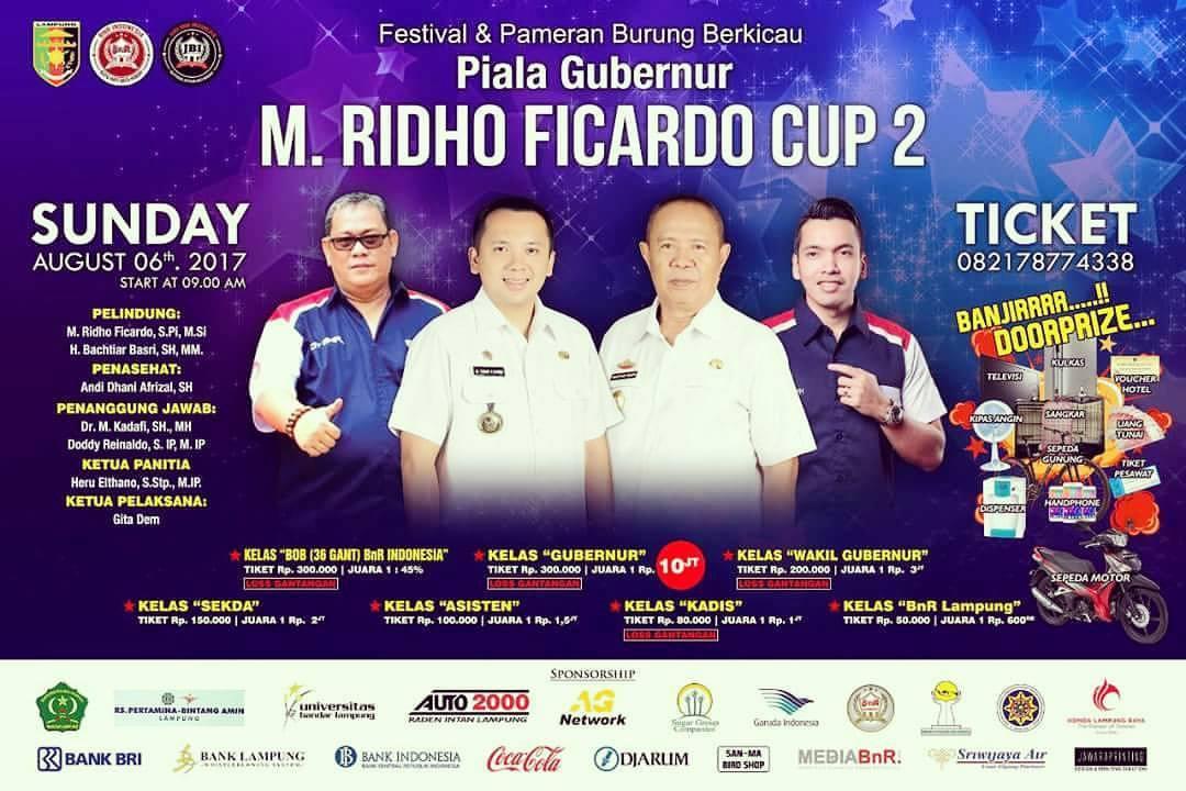 Gubernur Lampung M.Ridho Ficardo Cup II, Organisasi BnR Indonesia Lampung Siap Ulang Kesuksesan