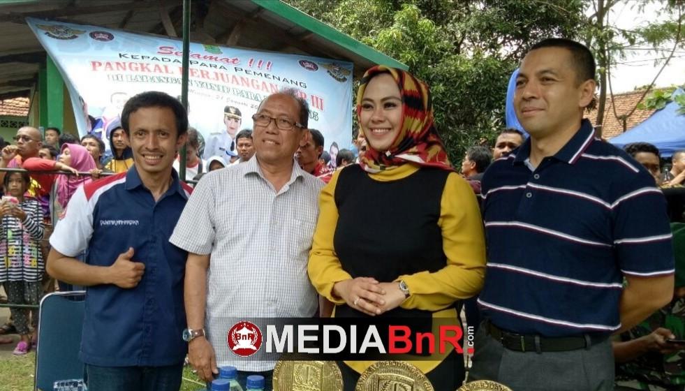 Resmi dibuka oleh Bupati Karawang, Lomba Pangkal Perjuangan Cup III Berjalan Meriah