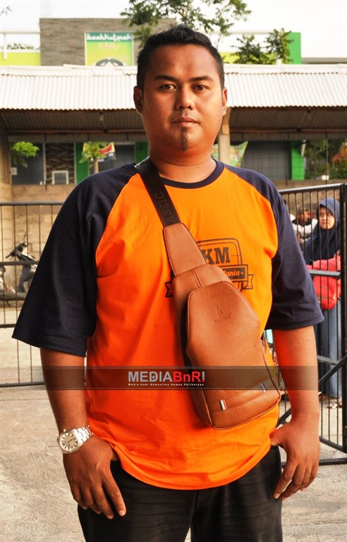 H Hakim Sadewa ketua DPC Ronggolawe  Magelang