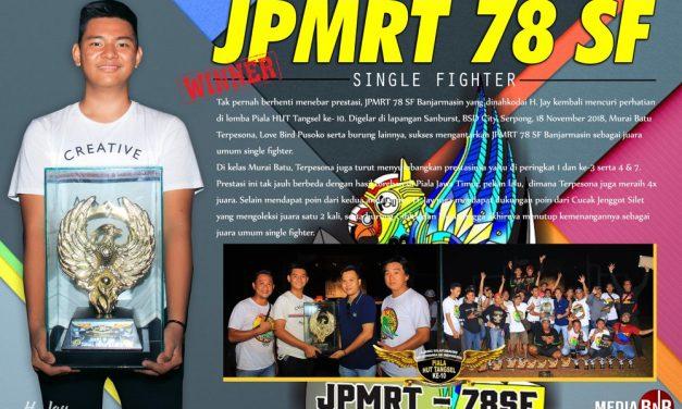 JPMRT 78 SF Banjarmasin, Raih Juara Umum di Piala HUT Tangsel ke-10