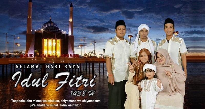 H. Nurdin : Selamat Hari Raya Idul Fitri 1438H
