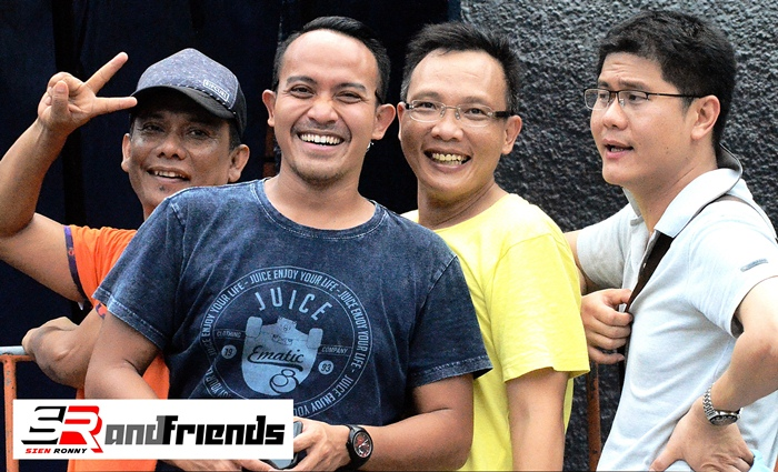 H Rizal LBB bersama Sahabat SR.