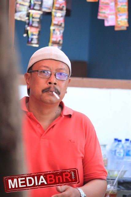 H. ALI, salah satu tokoh kicau mania setempat yang selalu mensupport gelaran New Sakram BC