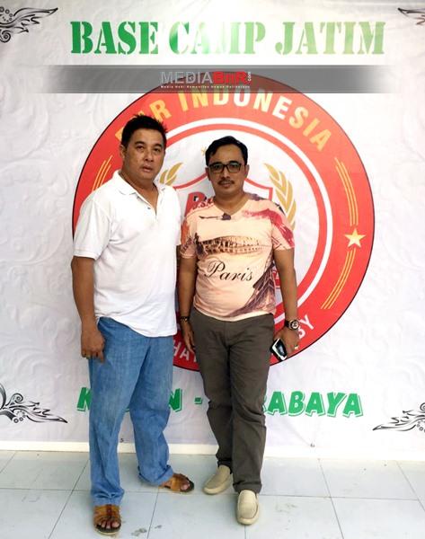H. Mansur bersama Ketua BnR Indonesia Surabaya