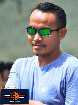 H. Rizal Ketua LBB Team (foto Yayak)
